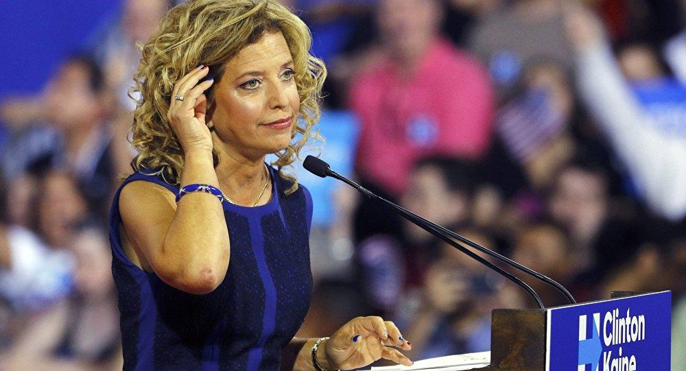 Debbie Wasserman Schultz, presidenta del Comité Nacional Demócrata