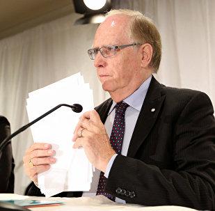 Richard McLaren, jefe de la comisión para investigar supuestos casos de dopaje