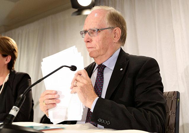 Richard McLaren, jefe de la comisión para investigar supuestos casos de dopaje en las Olimpiadas de Sochi