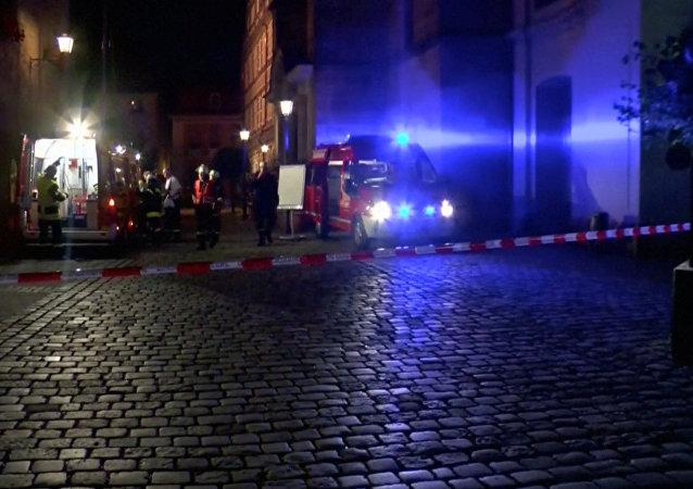 Explosión en Ansbach, Alemania