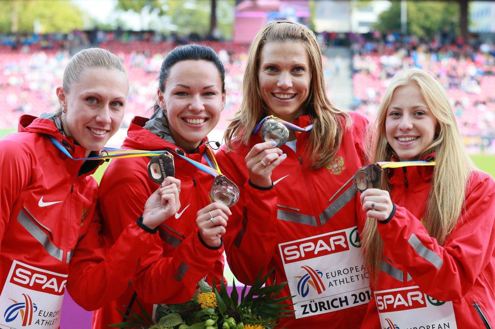 Las atletas rusas que no asistirán a los Juegos Olímpicos de Río 2016
