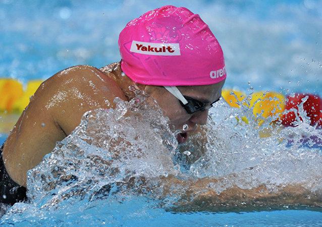 Yulia Efímova, nadadora rusa suspendida