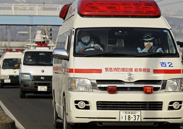 Ambulancias japonesas (archivo)