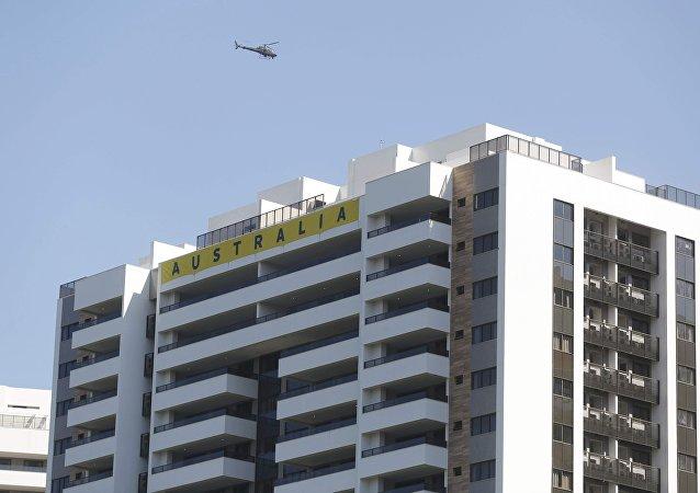 Apartamentosen la Villa de los Atletas para delegación olímpica australiana