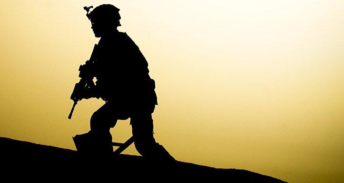 Soldado estadounidense (archivo)