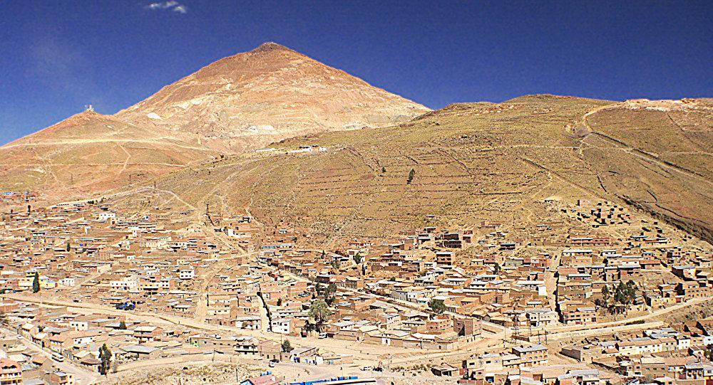 Cerro Rico de Potosí, Bolivia