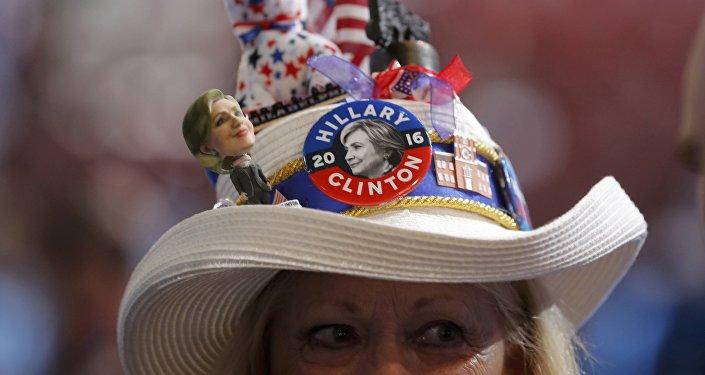 Partidario de Hillary Clinton