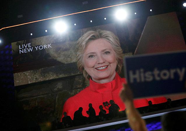 Hillary Clinton, candidata a la presidencia de EEUU por el Partido Demócrata