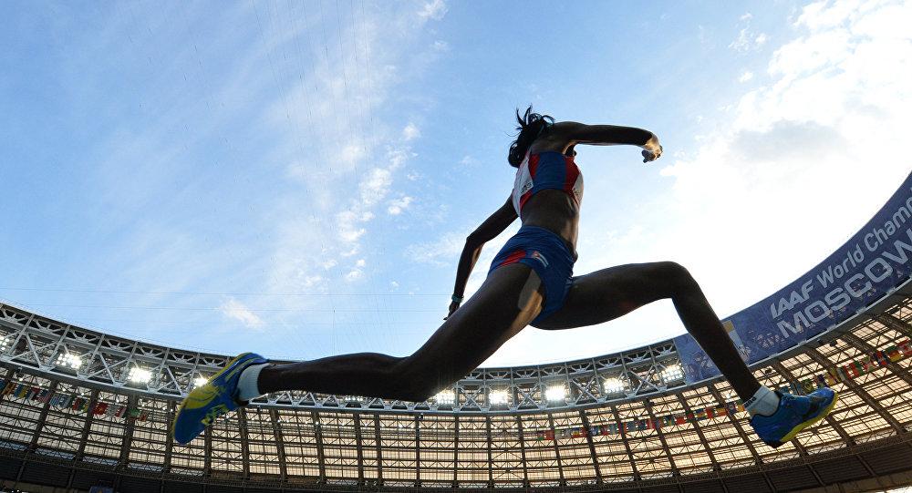Atleta rusa (archivo)