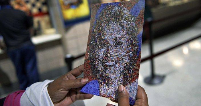 Una imagen de Hillary Clinton, candidata a la presidencia de EEUU