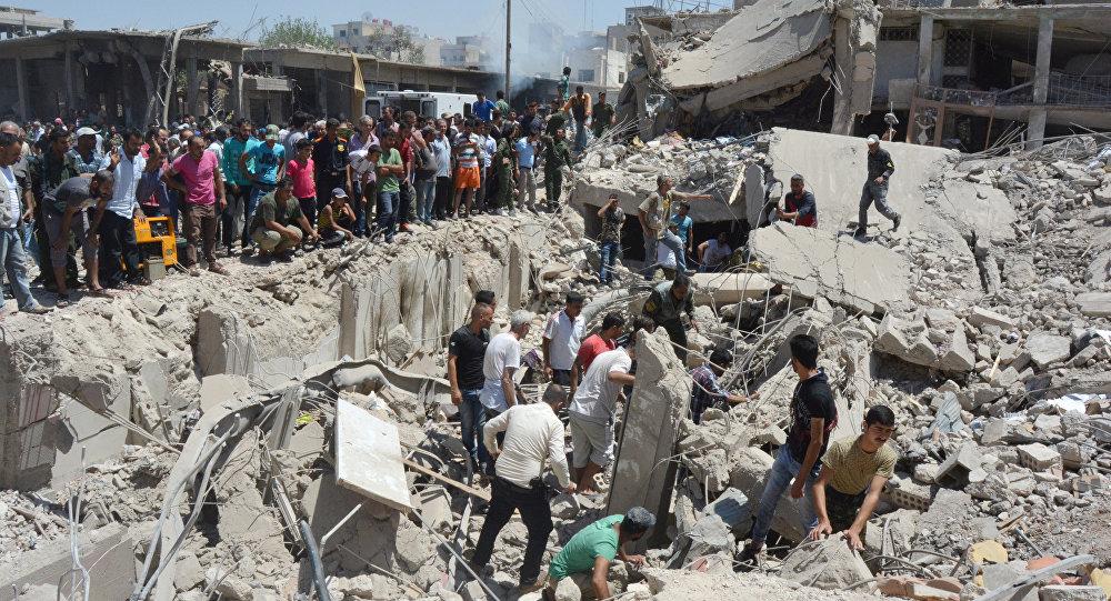 Situación tras el atentado en la ciudad siria de Qamishli (archivo)