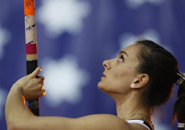Elena Isinbáyeva, deportista rusa