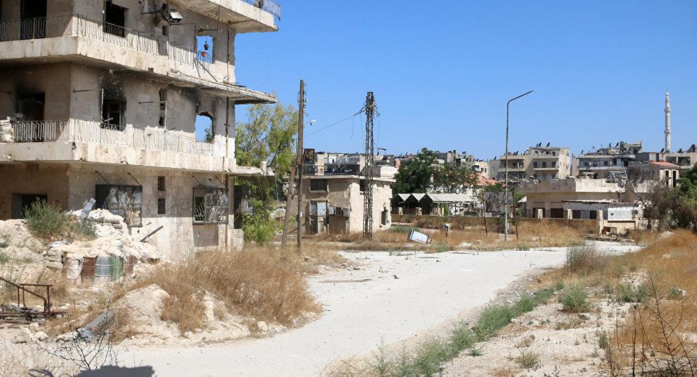 Corredor humanitario en Alepo