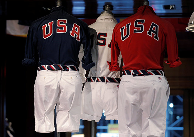 El uniforme de la delegación olímpica de EEUU diseñada por Ralph Lauren