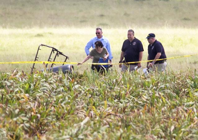Confirman la muerte de 16 personas al estrellarse un globo aerostático en Texas