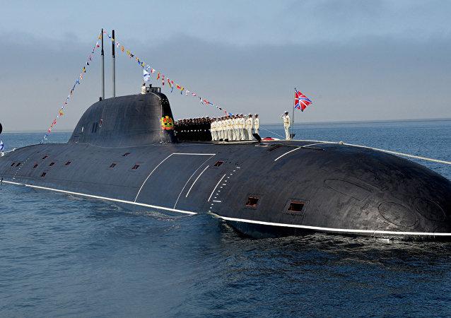 El submarino nuclear 'Kuzbass'.