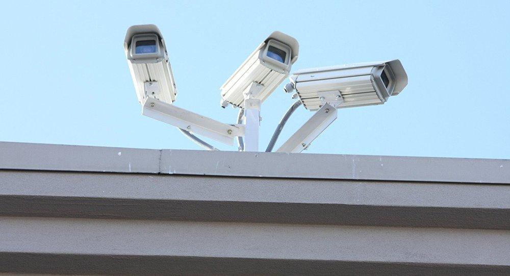 Las cámaras de seguridad (archivo)