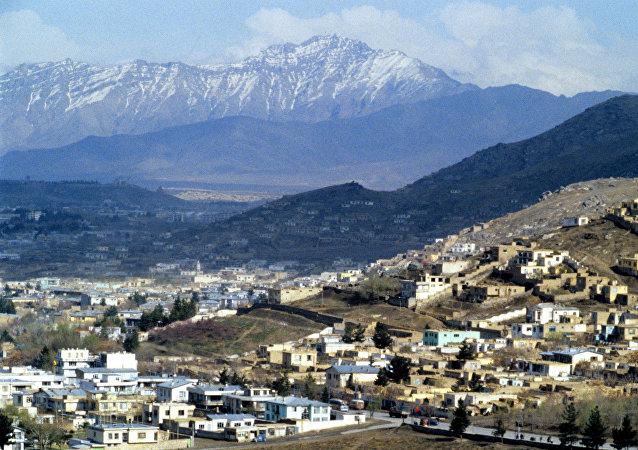 Kabul, capital de Afganistán