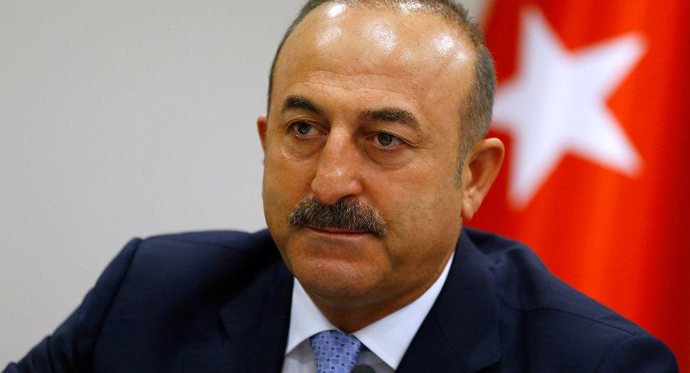 Mevlut Cavusoglu, ministro de Exteriores de Turquía