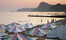 Turistas en Crimea