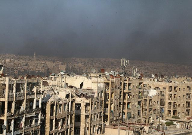 Situación en la ciudad de Alepo