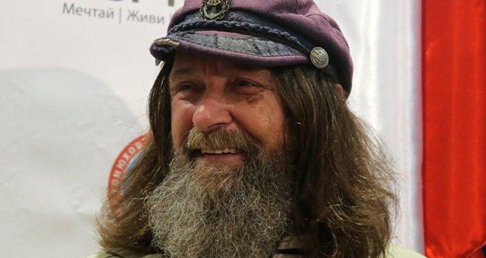 El famoso viajero ruso Fiódor Kóniujov