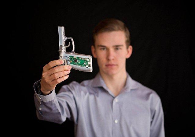 'Pistola inteligente' para prevenir la violencia por armas en EEUU