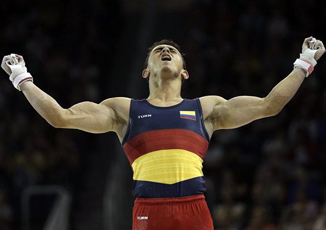 Jossimar Calvo, gimnasta colombiano (archivo)