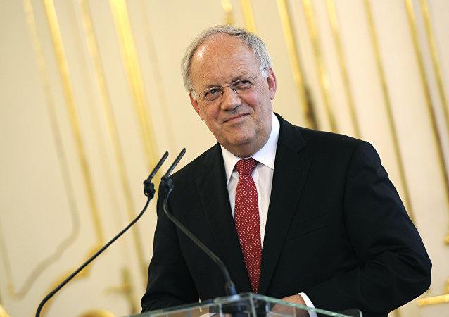 Johann Schneider-Ammann, presidente del Consejo Federal de Suiza