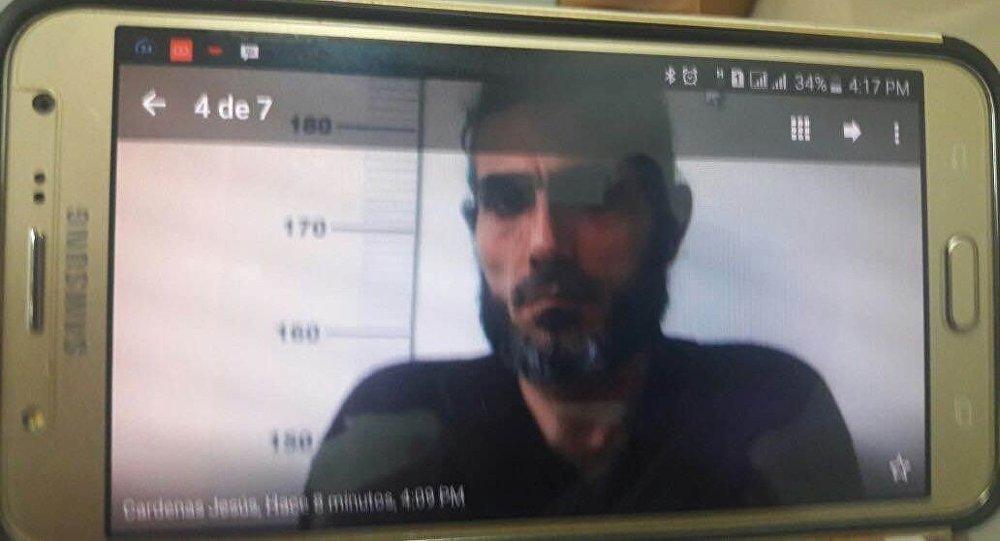 Fotografía de Jihad Ahmad Deyab tomada por las autoridades venezolanas