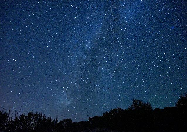 La lluvia de meteoros de las Perseidas