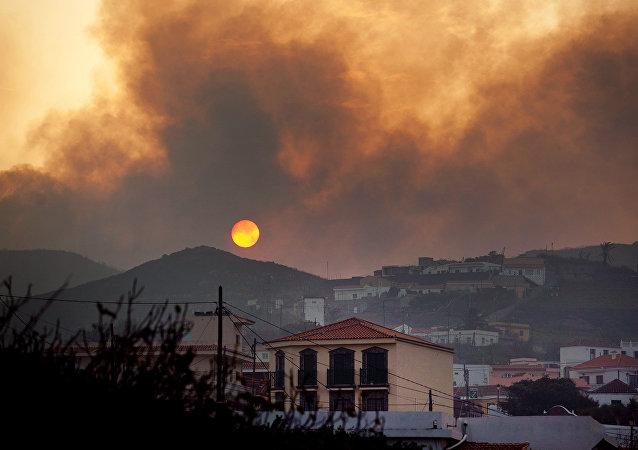 Incendios en las Islas Canarias