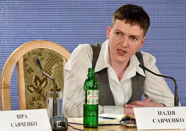 Nadia Sávchenko, diputada y militar ucraniana