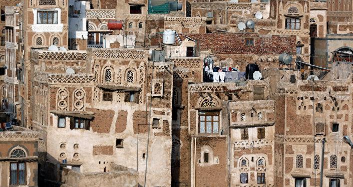 La Ciudad Vieja de Saná, la capital de Yemen (archivo)
