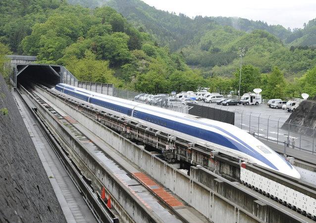 Un tren maglev