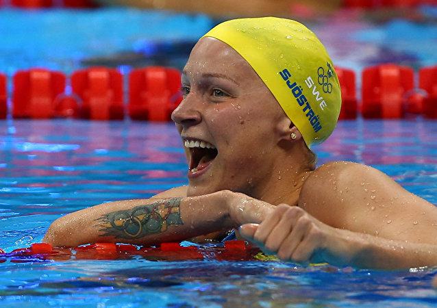 Sarah Sjostrom, nadadora sueca