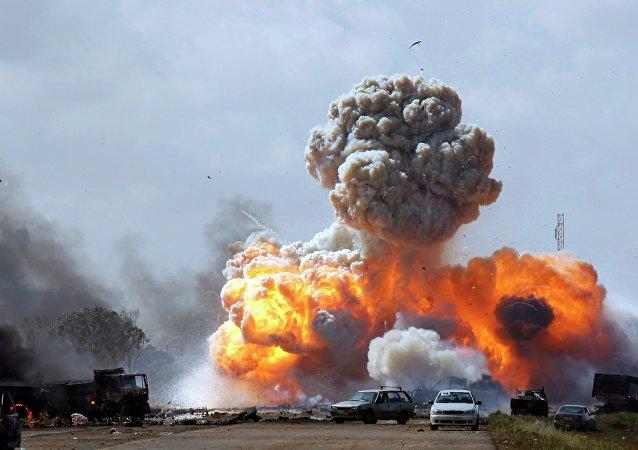 Bombardeo de EEUU en Libia