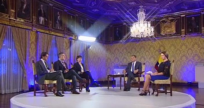 La entrevista de Rafael Correa