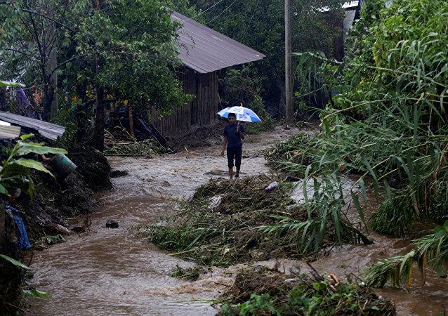 Consecuencias de la tormenta Earl en México