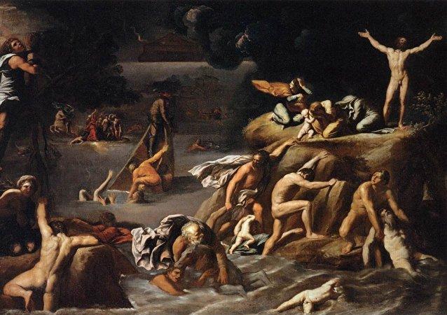 Pintura 'Diluvio Universal', 1616