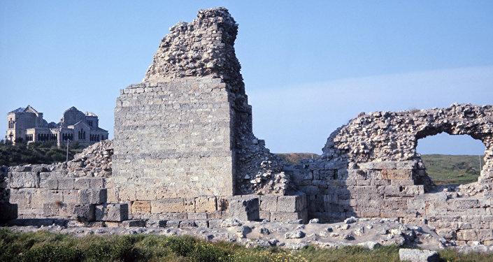 Un sítio arqueológico en Crimea (Archivo)