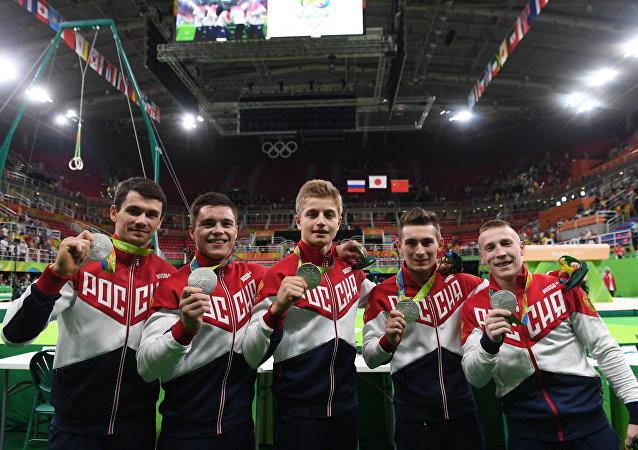 Selección masculina rusa de gimnasia