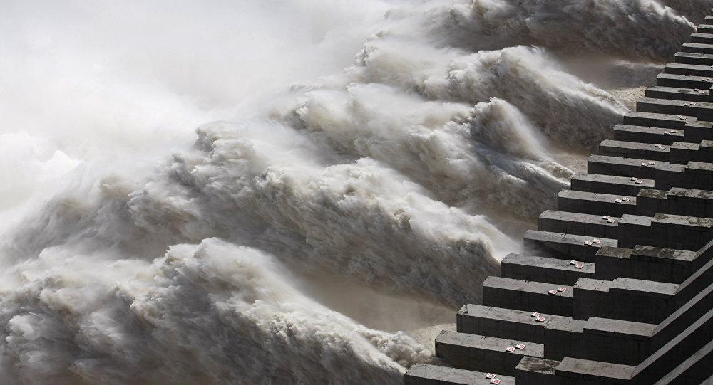 El río Yangtsé en China