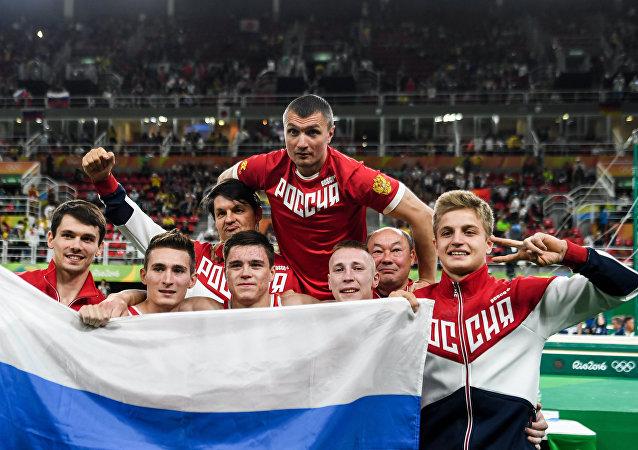 Las victorias de la selección rusa durante los tres primeros días de los JJOO 2016