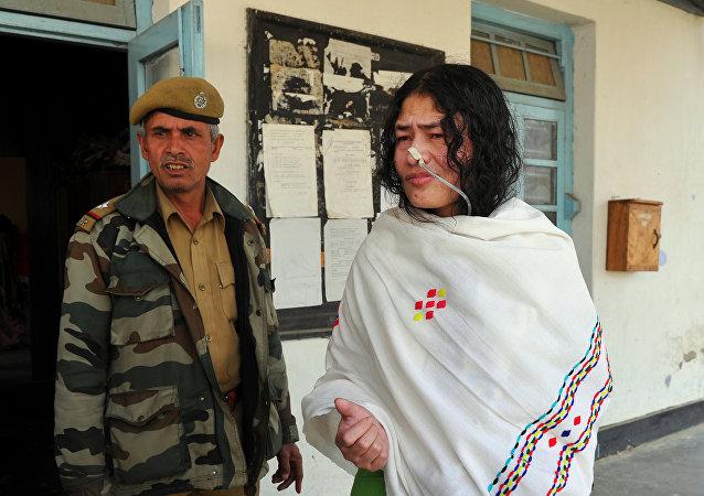 Chanu Sharmila en 2012