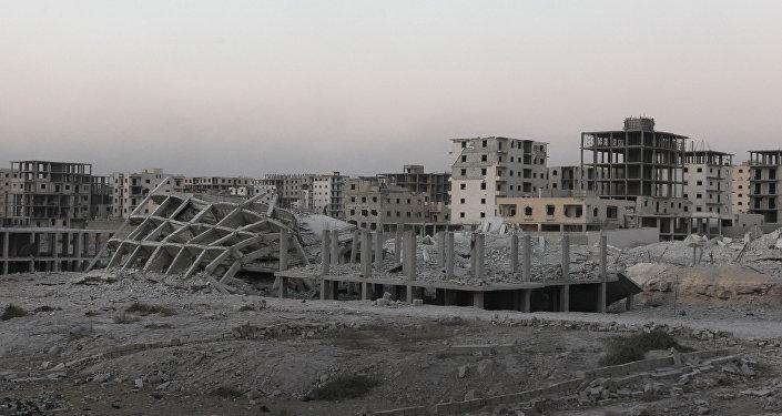 El sur de Alepo, Siria