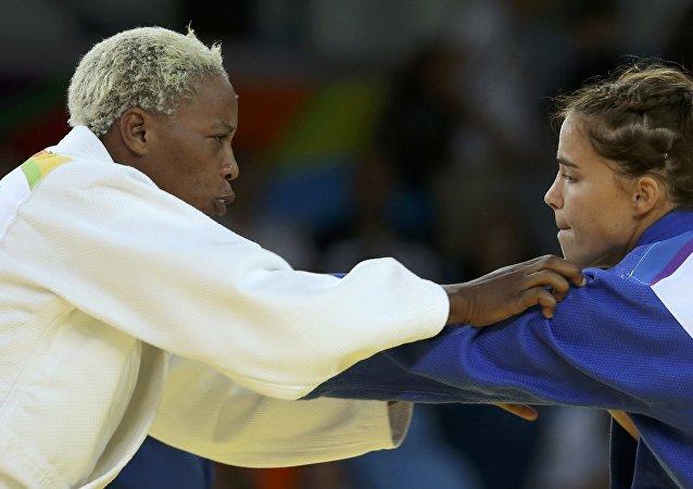 Yolande Bukasa, judoca refugiada