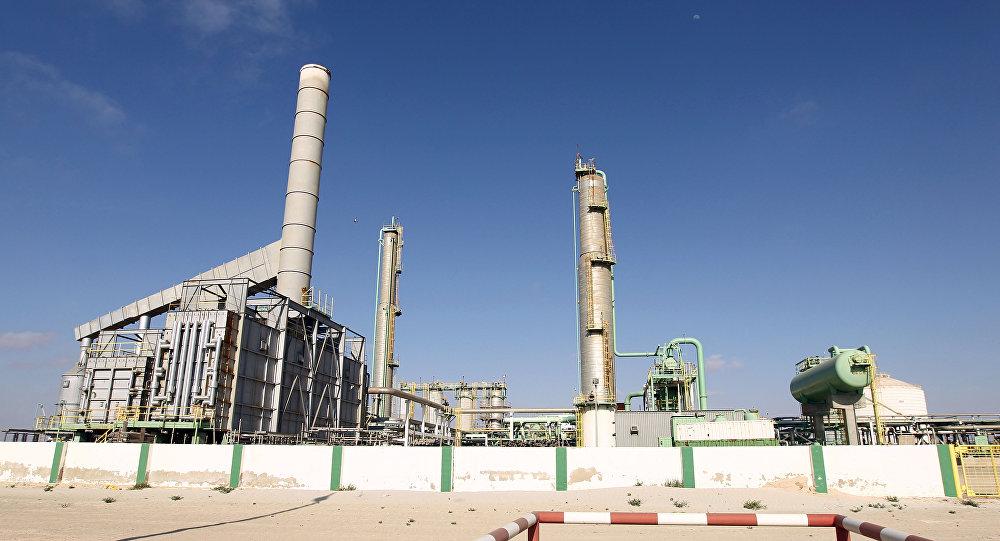 El puerto libio de Zueitina