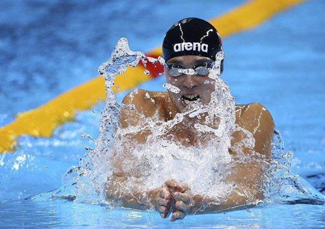 Anton Chupkov, nadador ruso