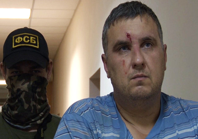 Evgueni Panov, el supuesto organizador de los atentados en Crimea